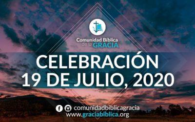 Celebración Domingo 19 de Julio, 2020