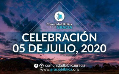 Celebración Domingo 05 de Julio, 2020